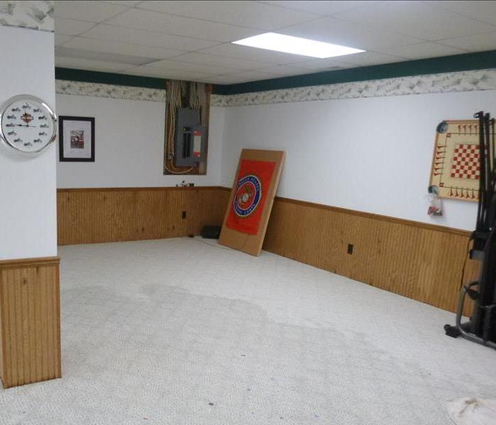 Water damage in Sturgis, MI Before