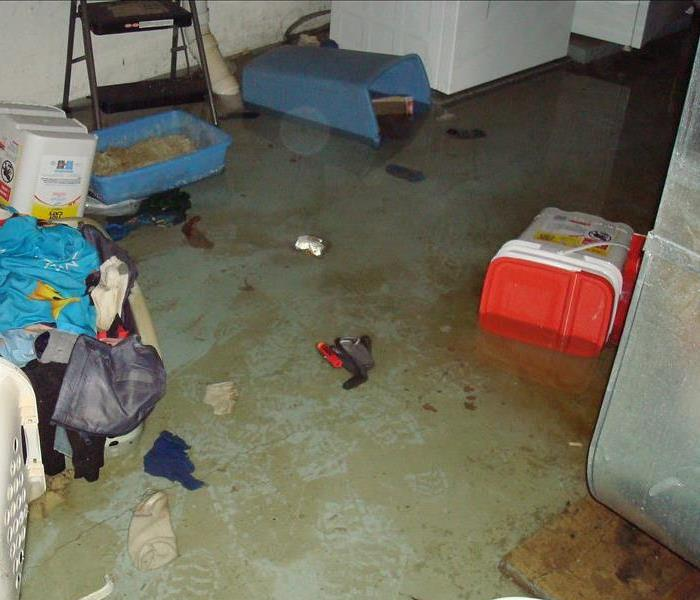Flooded Basement in Marcellus, MI