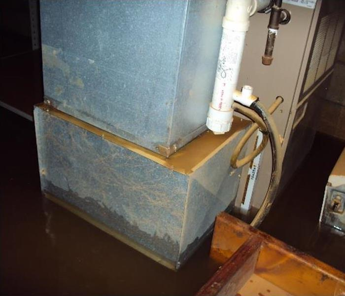 Removing Water from Three Rivers Home