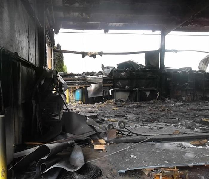 Commercial Restoring your Business after Fire Damage in Constantine, MI